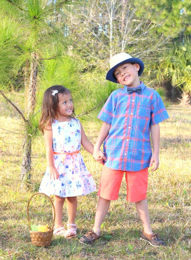 Easter kids fashion with Oshkosh