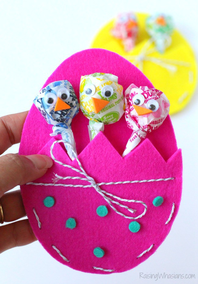 Easter treat craft kids