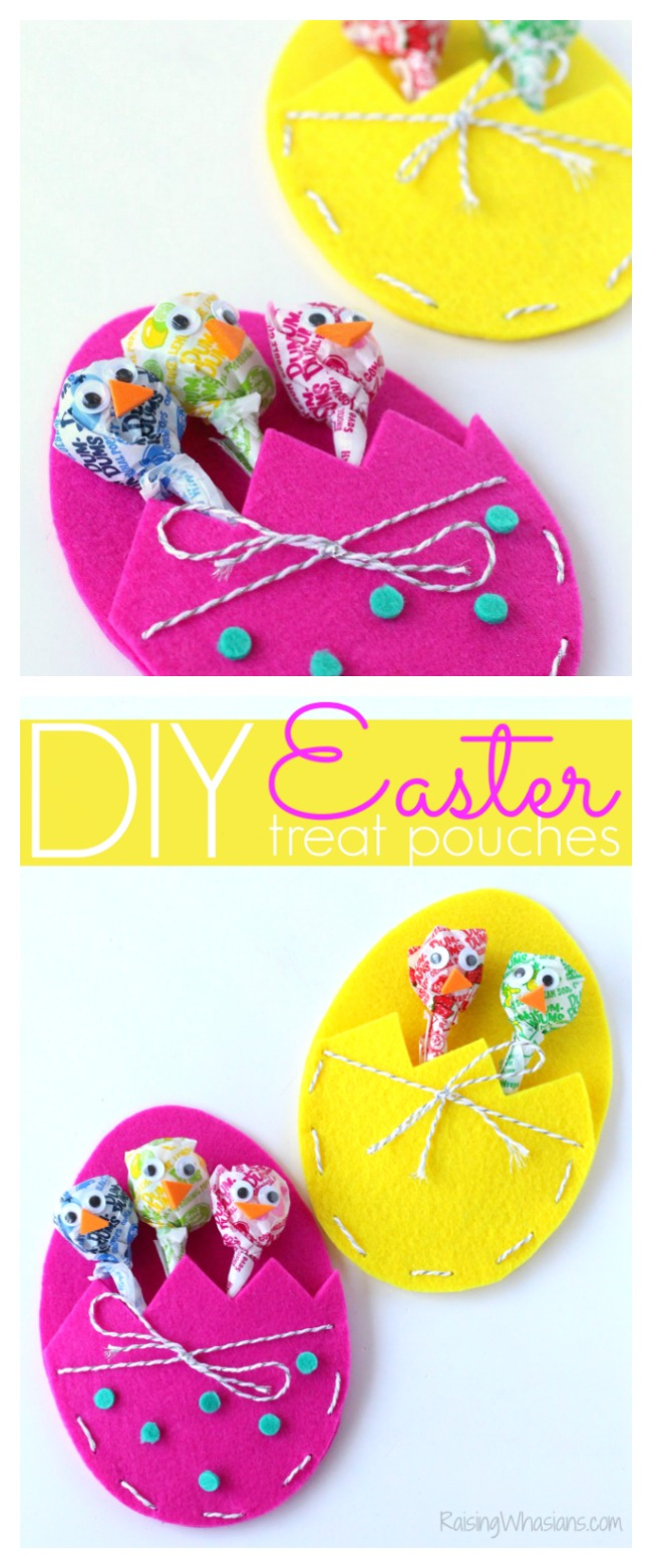 Easter treat pouch pinterest