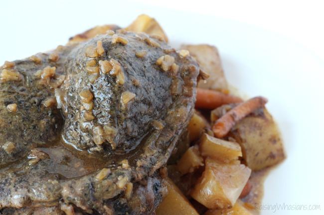 Easy crock pot pot roast