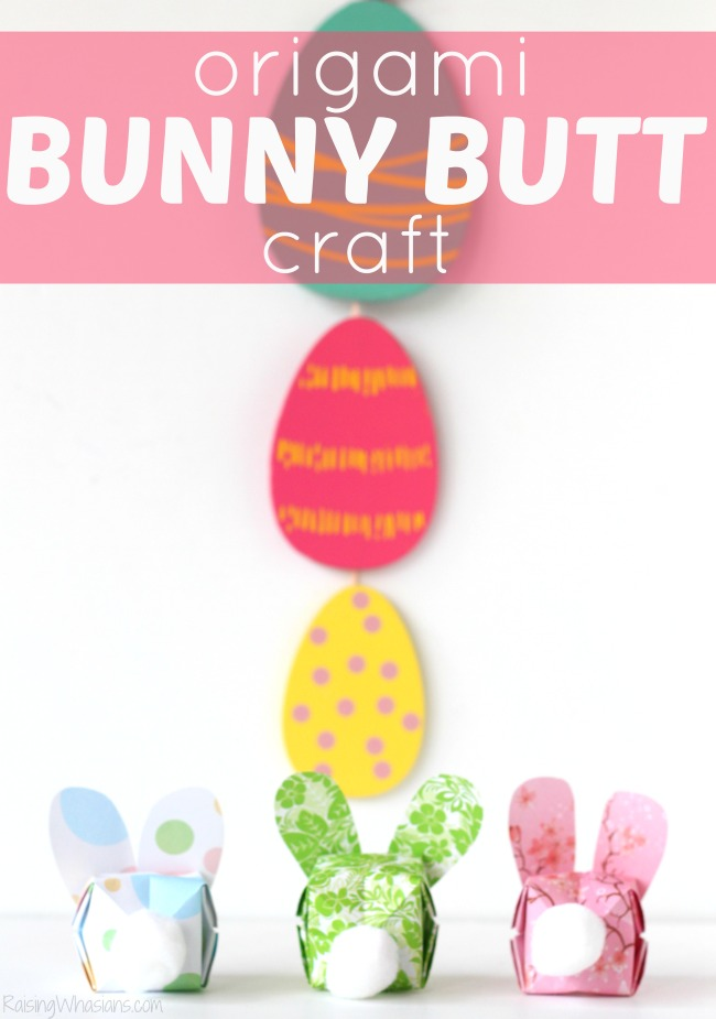 DIY Origami Easter Bunny - as a pendant or greeting card - DIY Crafts | 925x650