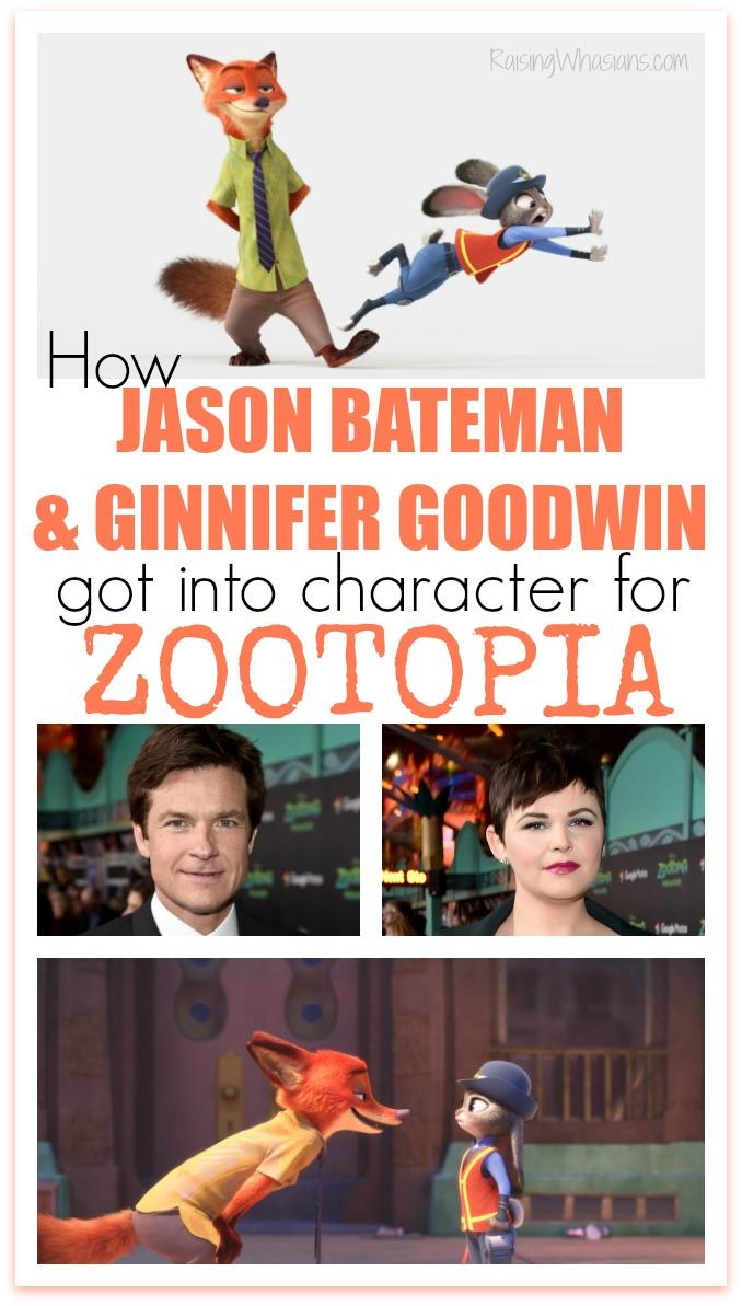 Jason Bateman Ginnifer Goodwin Zootopia