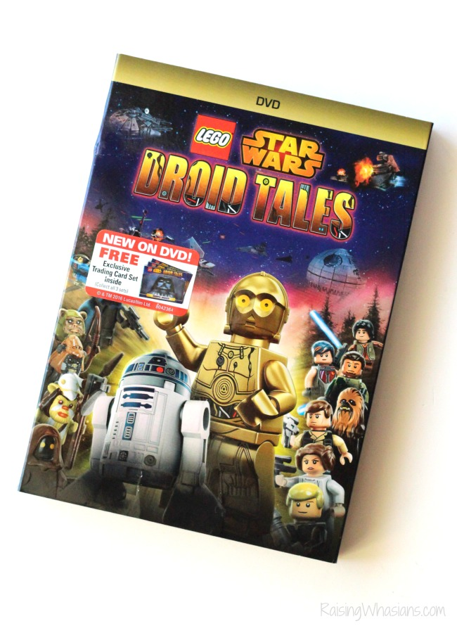 Lego star wars droid tales dvd review
