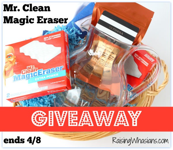 Magic eraser giveaway