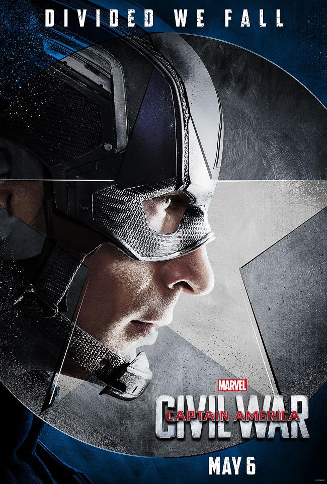 marvels captain america civil war teamcap movie posters