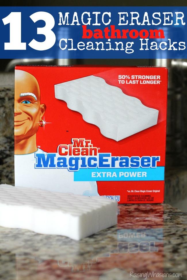 13 Magic Eraser Bathroom Cleaning Hacks