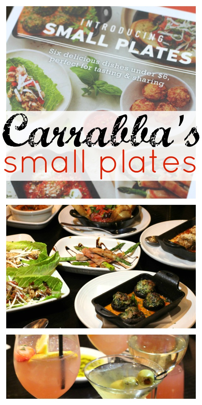 New Carrabbas small plates