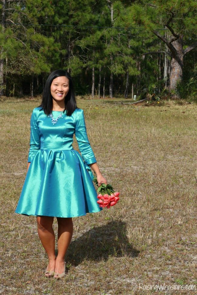 Shabby apple spring dress
