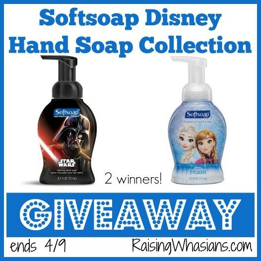 Softsoap Disney soap giveaway