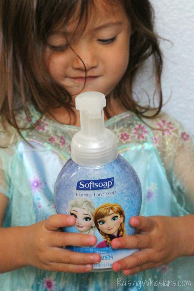 Softsoap frozen hand soap review
