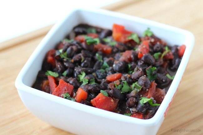 Easy Black Bean Soup + Tips for a Heart Healthy Life | Make this easy heart healthy black bean soup recipe in minutes + American Heart Association Tips #Recipe #HealthyRecipe #HealthTips