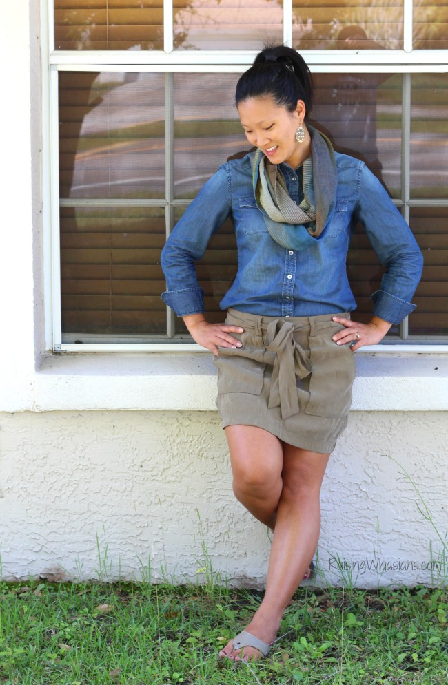 Chambray fashion for spring
