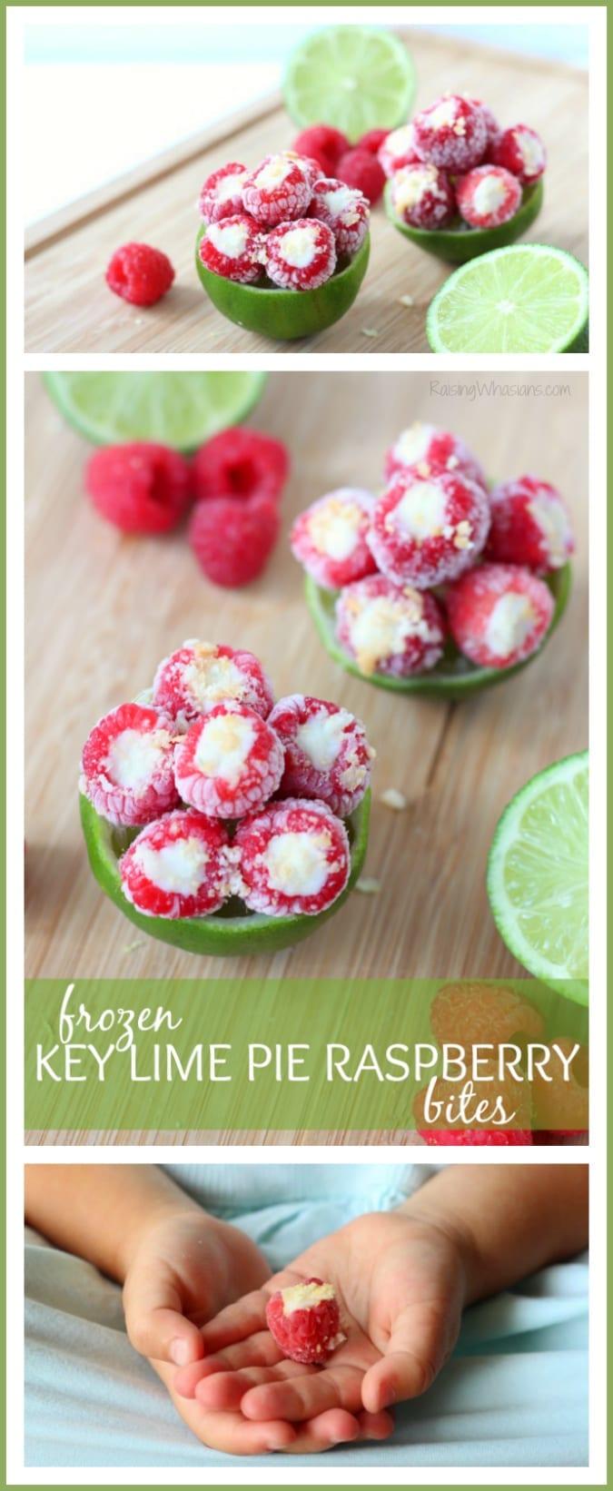 Frozen raspberry snack for kids pinterest