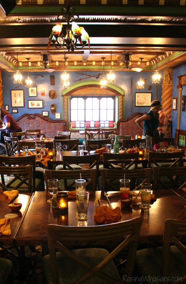Jungle skipper canteen parlor