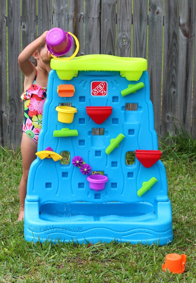 Step2 waterfall discovery wall review giveaway