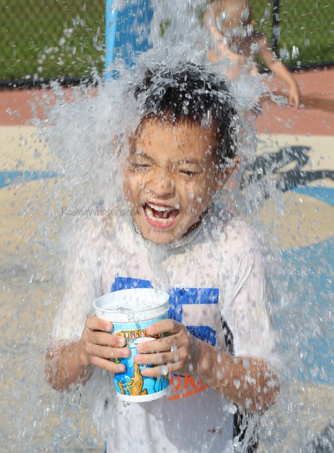 Summer ideas for kids to cool off