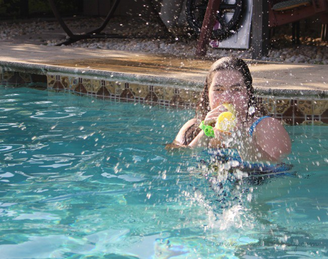 Swimming pool game ideas