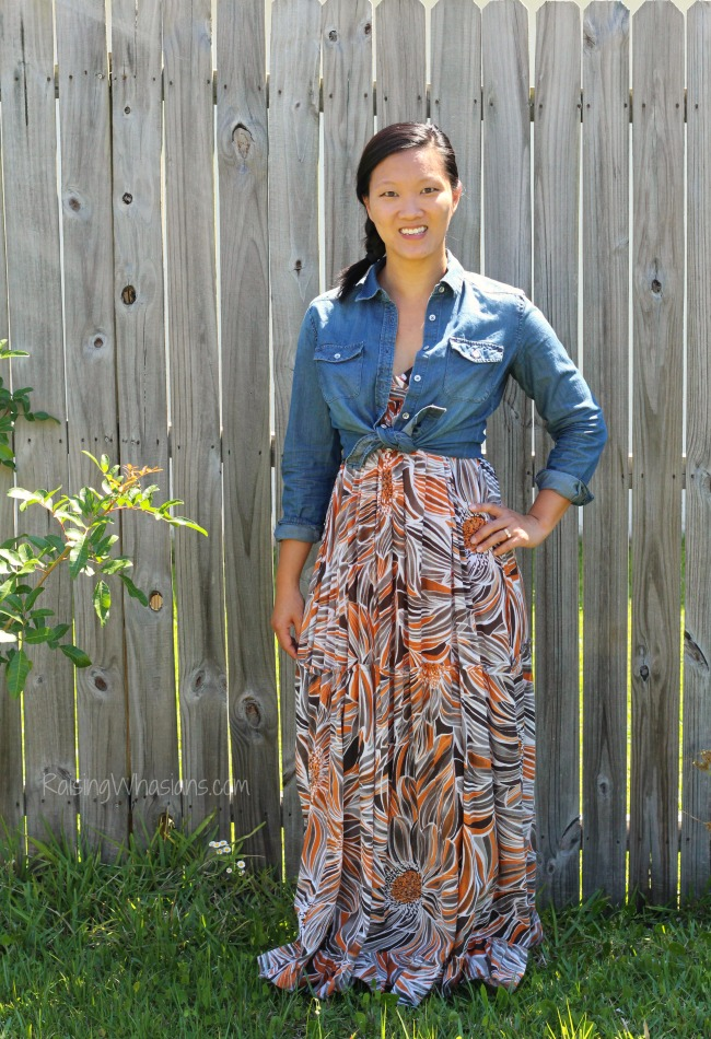 Ways to wear denim for spring