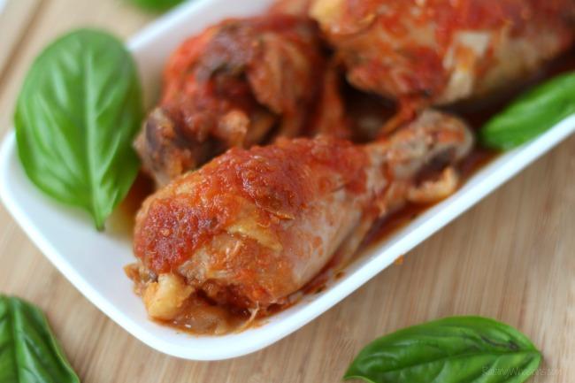 Easy crock pot chicken drumsticks italian