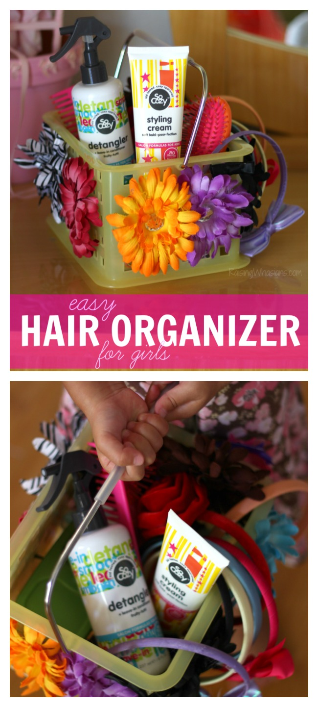 Easy Hair Organizer for Girls with SoCozy at CVS