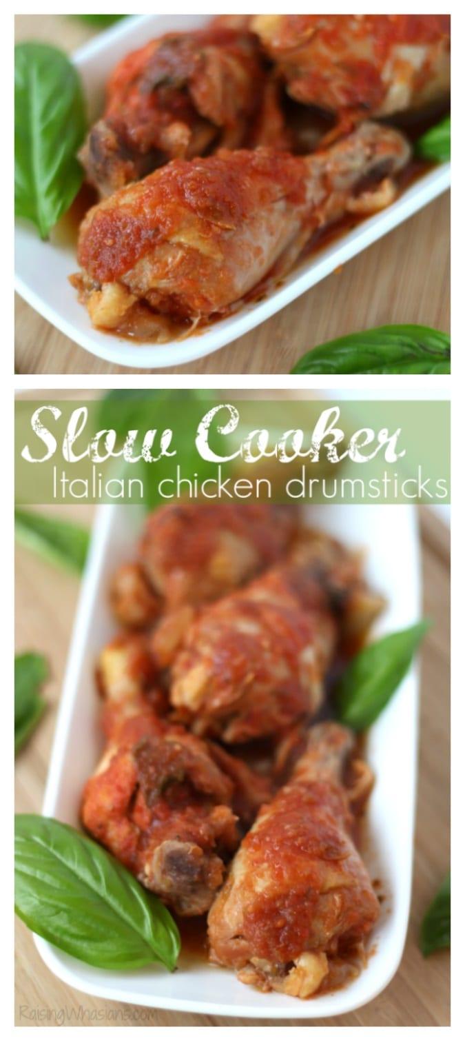 Easy slow cooker chicken drumsticks pinterest