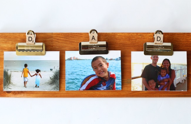 Fathers day diy frame
