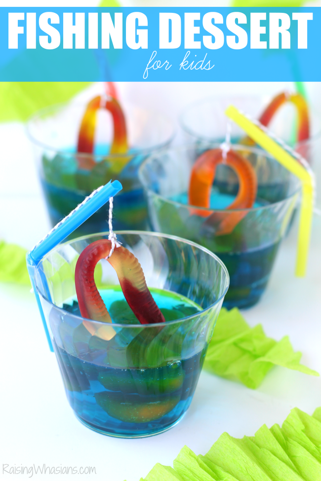 Fishing dessert idea for kids