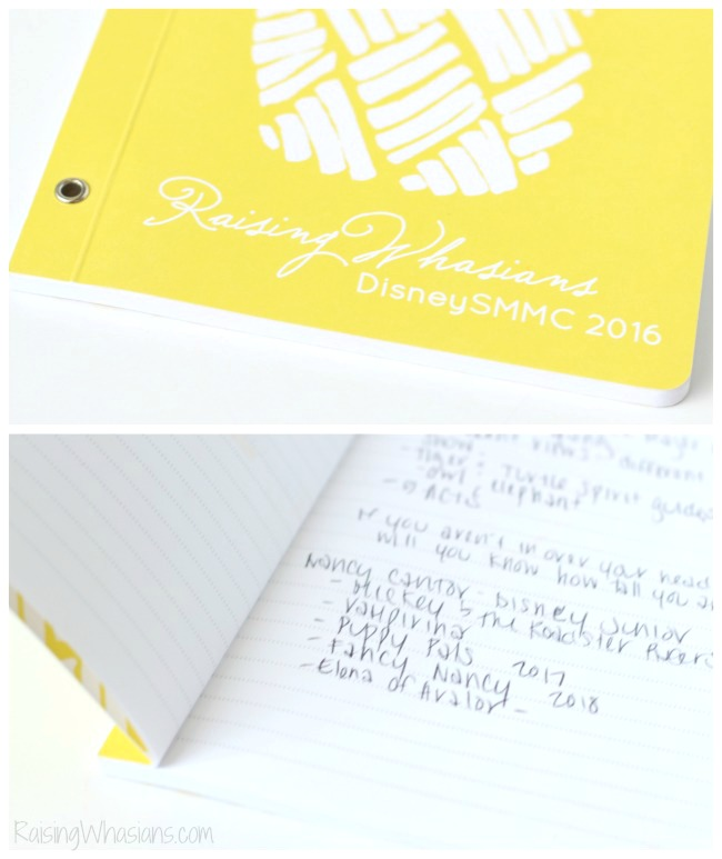 Minted custom notebook