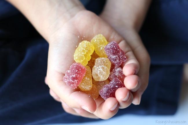 Organic gummy bears