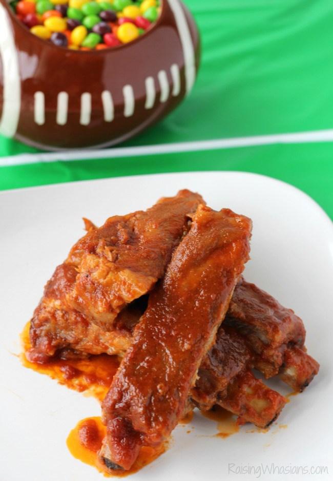 Crockpot ribs skittles bbq sauce