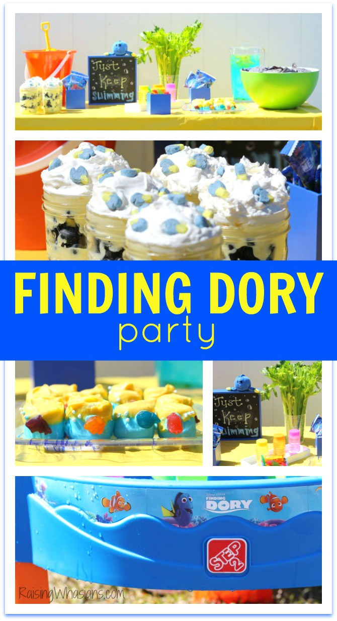 DIY Finding Dory party ideas on budget