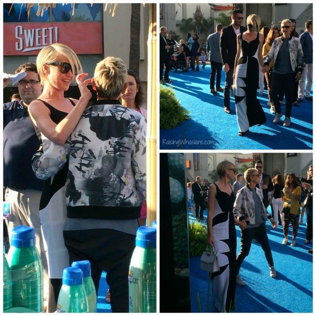 Ellen finding Dory premiere