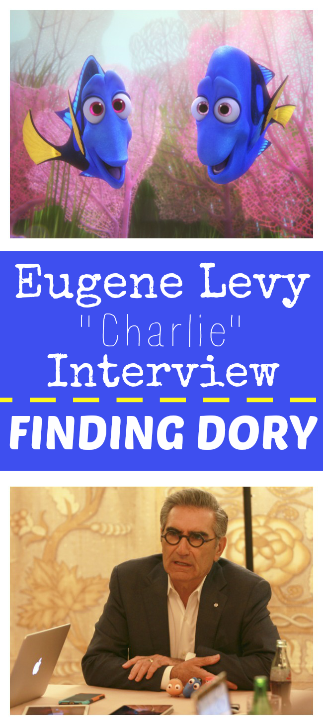 Eugene Levy interview finding Dory's dad