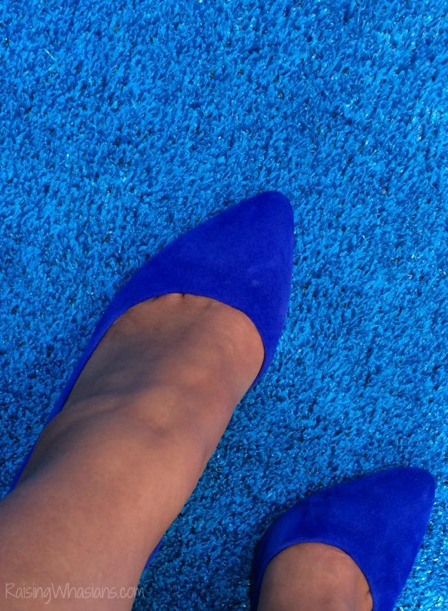 Finding Dory blue carpet