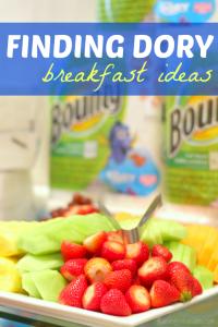 Finding Dory breakfast