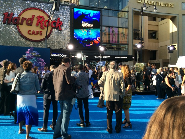 Finding Dory red carpet event