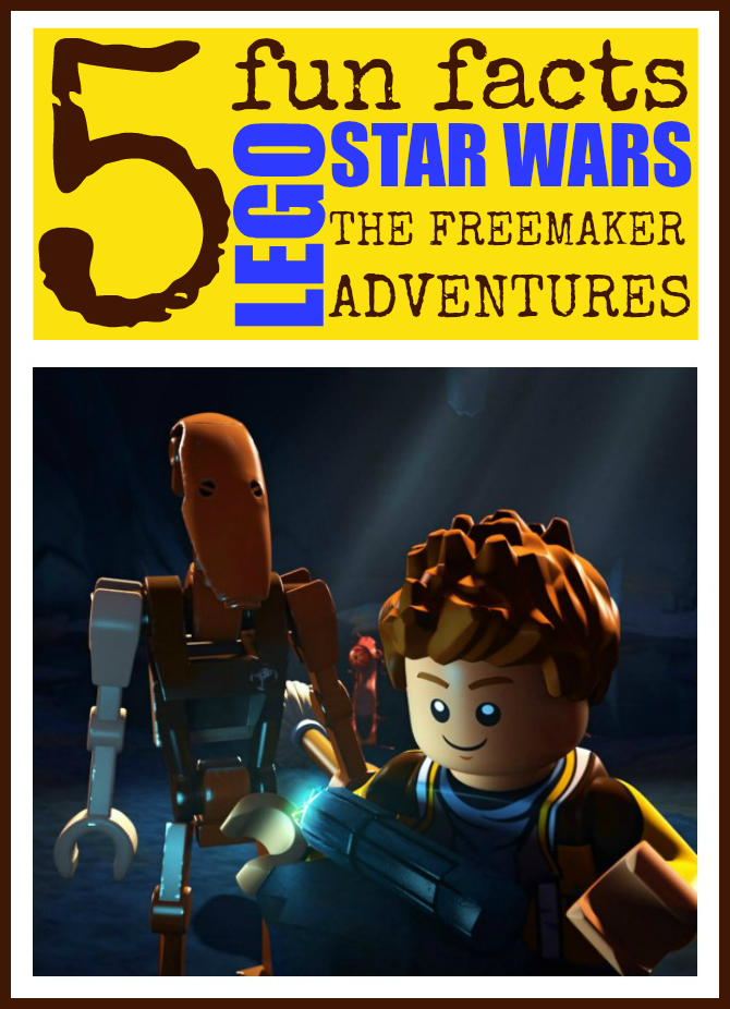 Lego star wars: the freemaker adventures fun facts