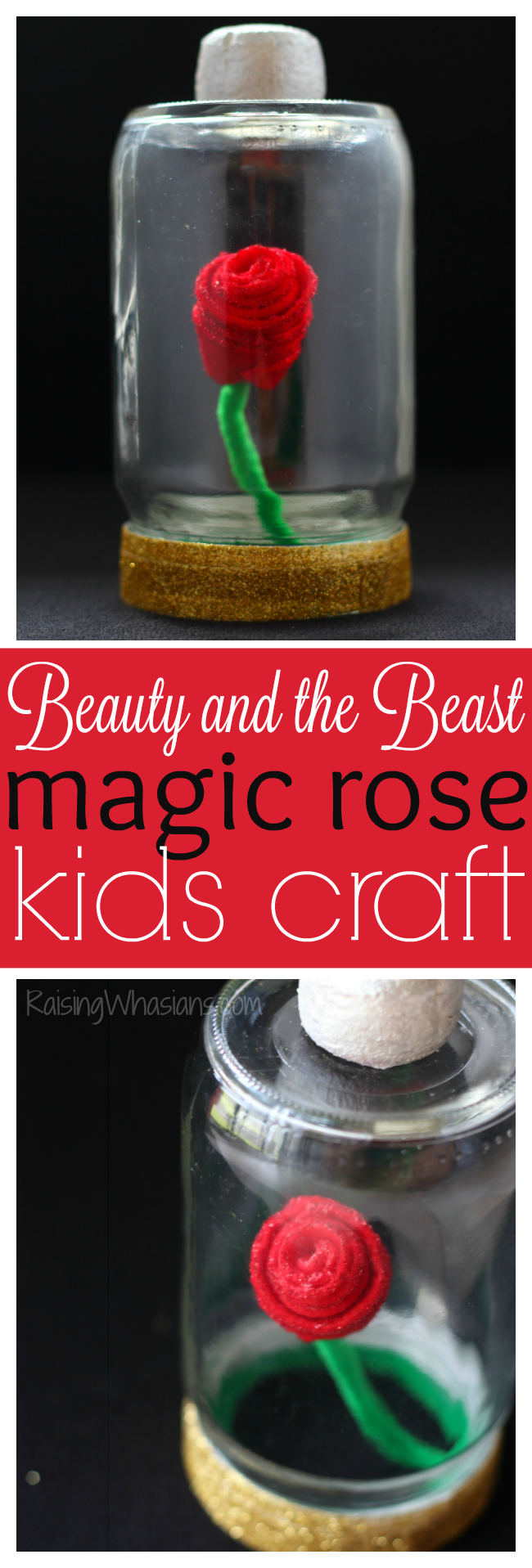 Beauty and the beast craft pinterest