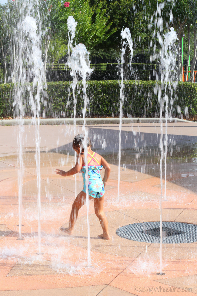 Best Orlando splash pads