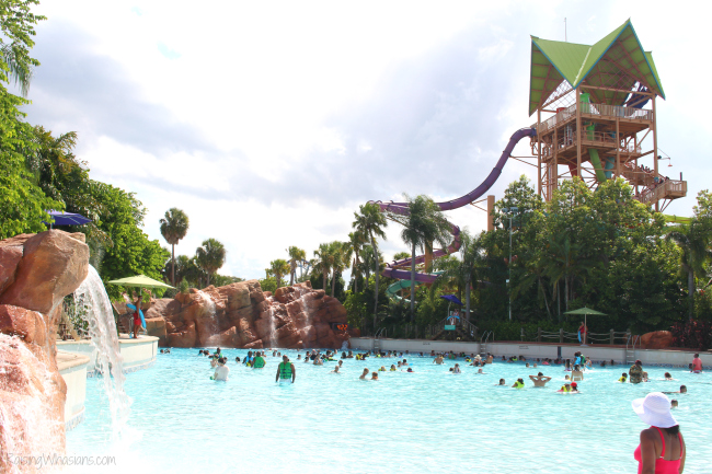 Best Orlando water park Aquatica