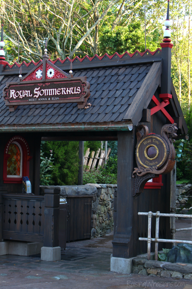 Frozen ever after secret royal sommerhus