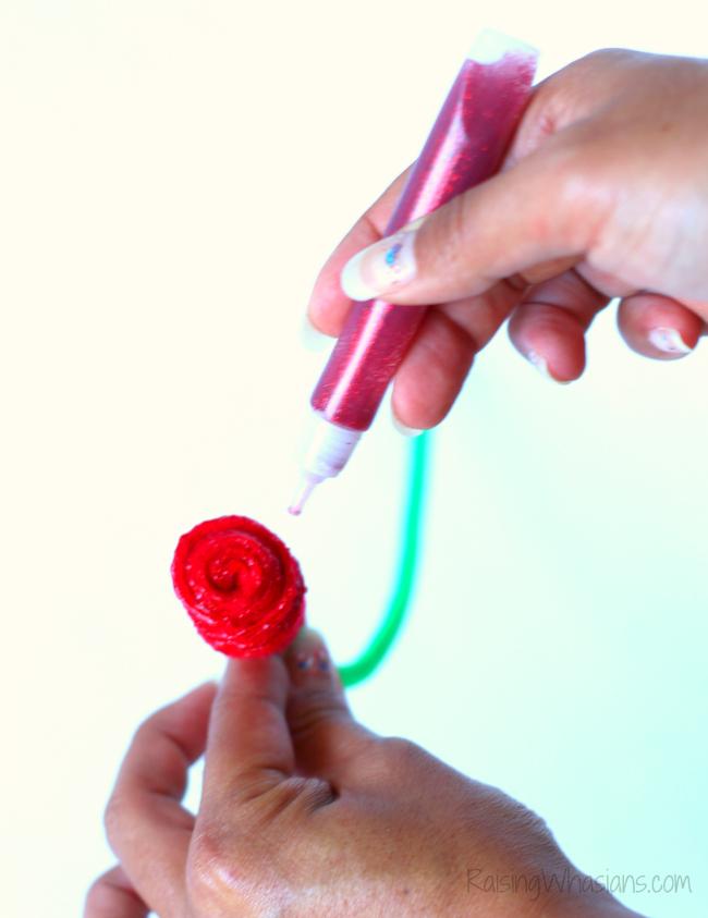 Magic rose craft