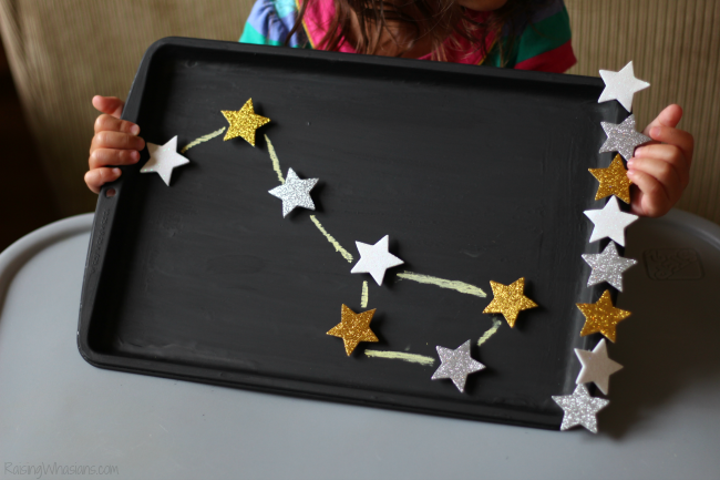 Constellation craft for toddlers