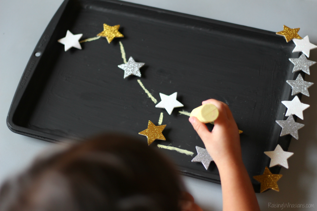 DIY constellation activity travel