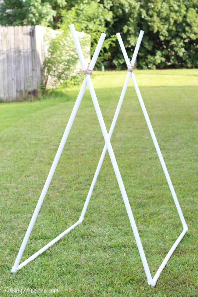 Easy kids tent diy