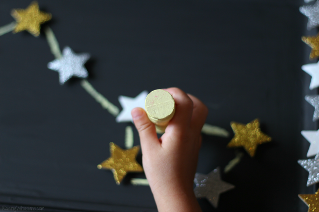 Kids constellation craft