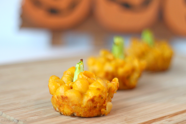 Mac n cheese cups fall