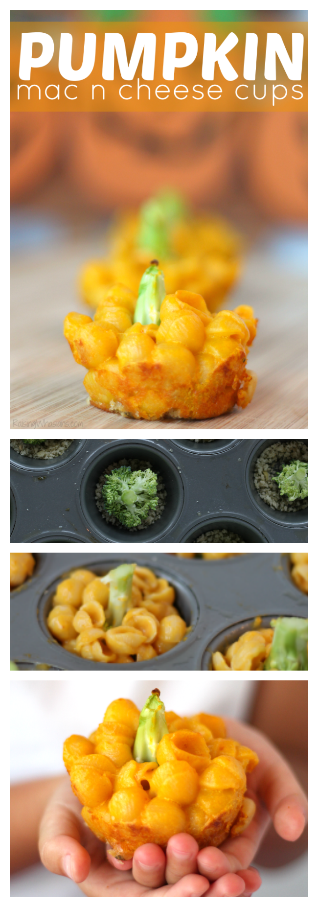 Pumpkin mac n cheese cups pinterest