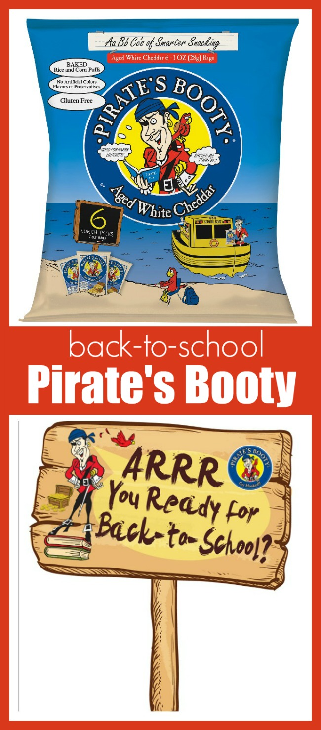 Snacking with back-to-school pirate's booty
