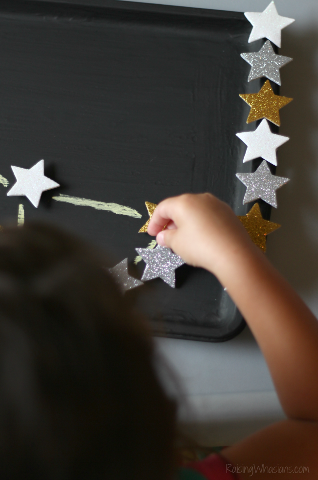 Stars craft for toddlers